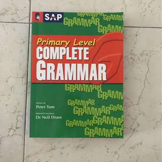 Primary school Grammar assessment book