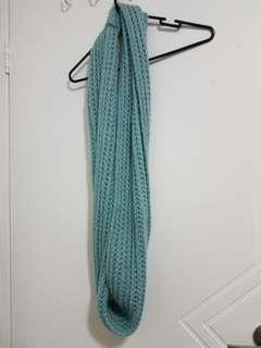 Light green tube scarf