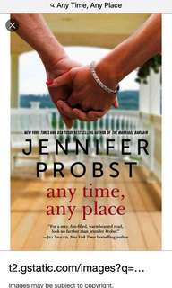 Any time Any Place -Jennifer Probst