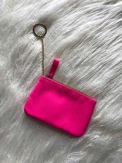 💕Victoria Secret - Mini pink coin pouch