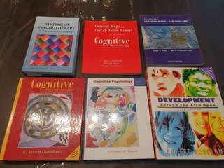 Psychology text books