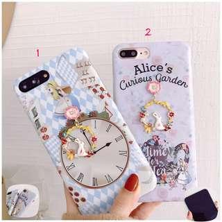 Alice In Wonderland 3D phone case