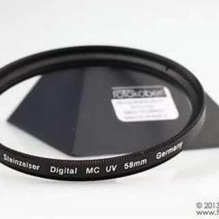 (NEW) Germany Steinzeiser Premium 58mm lens Pro 1 UV Filter/ Protector (Blue light)