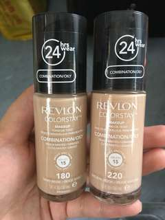 Revlon Colorstay Foundation 粉底液