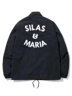 Silas and Maria Coach Jacket Black