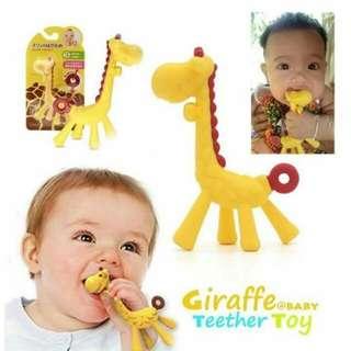 Giraffe teether toy