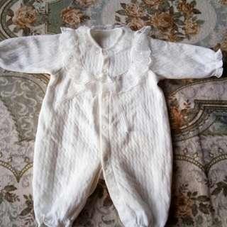 Baby jumpsuit cotton