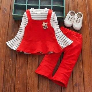 Long Sleeve Girl Dress