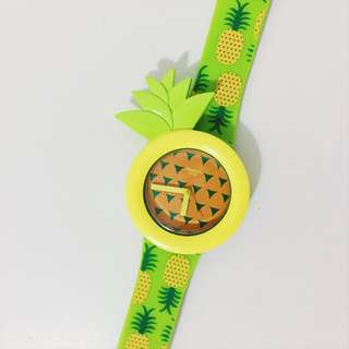 Pineapple Authentic Swatch Wristwatch