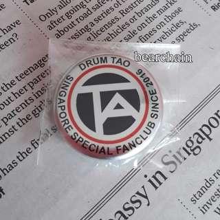 Drum Tao Fanclub Badge