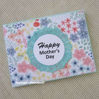 Mother's Day Flap-Tag Card