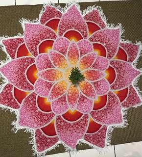 Flower beach mat  (REPRICED!!)