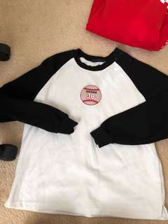 Korean style crew neck