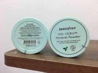 ❤️韓國帶回現貨❤️ Innisfree 無油無慮礦物控油蜜粉 5g