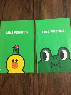 BN Line Friends Plastic Bag