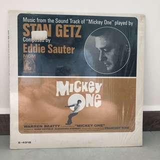 Stan Getz Mickey One Vinyl Lp