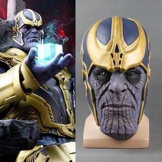 Thanos Mask and Infinity Gauntlet adults and kids