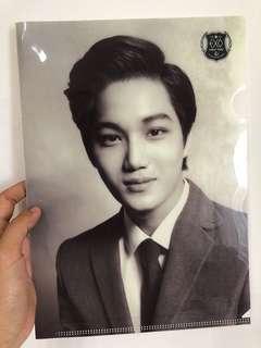 Kai plastic folder (official merch)