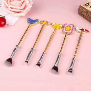 PRE-ORDER Cardcaptor Sakura CCS makeup brushes SET 1