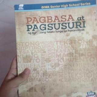 Shs Book Grade 11- Pagbasa At Pagsuri