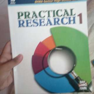 Shs Book Grade 11- Practical Research