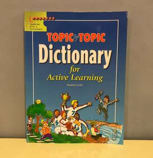 Topic by Topic Dictionary for Students (aged 6-15)