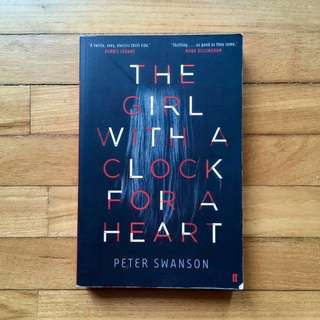 #20under The Girl With A Clock For A Heart By Peter Swanson