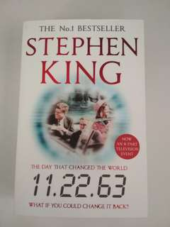 BN The Day that Changed the World 11.22.63 by Stephen King