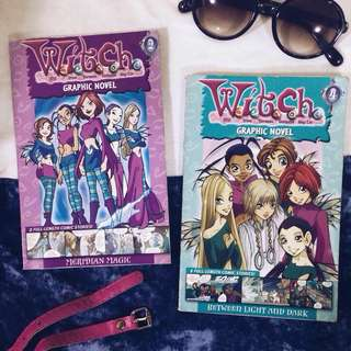 W.I.T.C.H. Graphic Novel #2 & #4