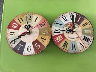 Small Table Clock (2 pieces)