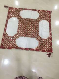 Hand Made Table Clothe From Dubai