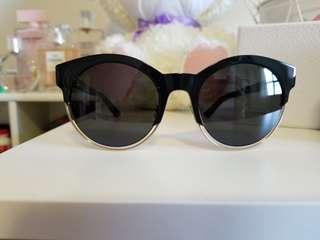 Christian Dior Sideral Black frame sunglasses