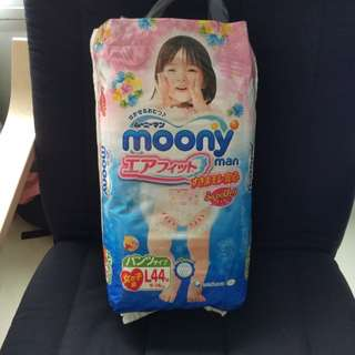 Moony Pants Size L for girl