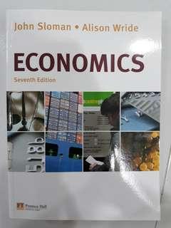 John Sloman Economics Textbook