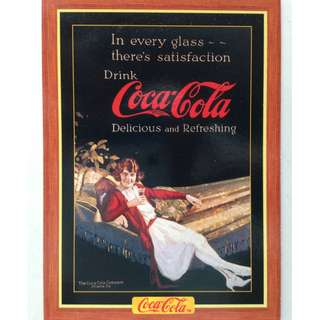 1995 Coca Cola Series 4 Base Card #392 - Magazine Ad - 1922