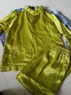Hari raya baju kurung for kids