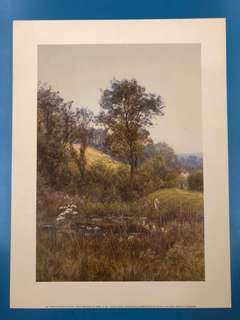 Print 'The Pond' by Helen Allingham