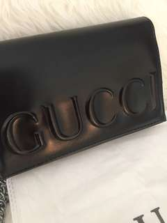 Gucci XL logo bag