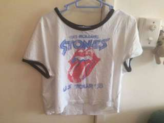 Rolling Stones band tee