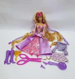Barbie Doll as Rapunzel