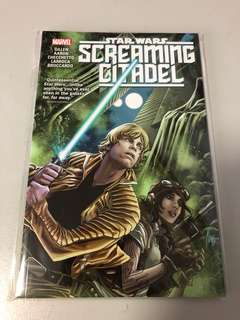 Star Wars screaming citadel marvel comics