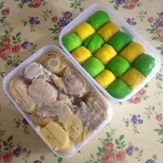 Durian + pancake