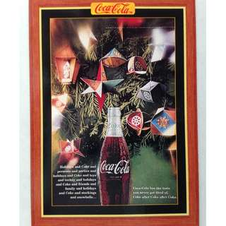 1995 Coca Cola Series 4 Base Card #389 - Magazine Ad - 1980s