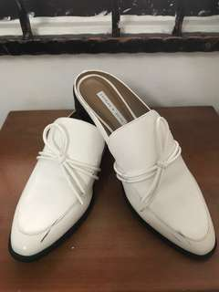 Charles and Keith White Shoes