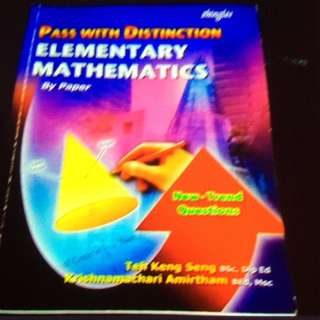 Pass With Distinction Elementary Mathematics
