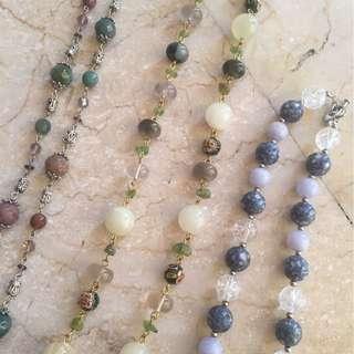 Beautiful Semi Precious Stone Necklaces