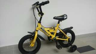 Aleoca Children Bicycle With Training Wheels