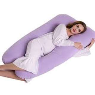 U Shaped Cotton Full Pregnancy Support Pillow Brand New