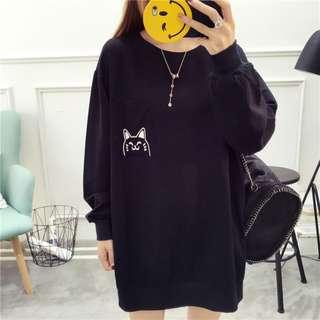 💫 PO 💫 : Cat Oversized Pullover