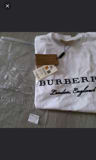 最後一件清貨💙Burberry tee T-shirt for men top 刺繡